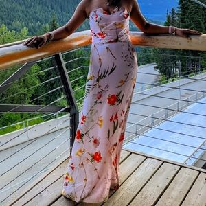 EUC- Floral Ted Baker gown